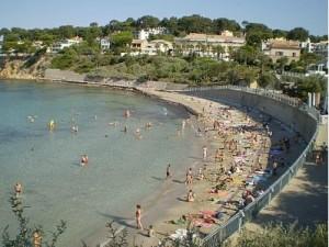 Udklip - Portisol stranden